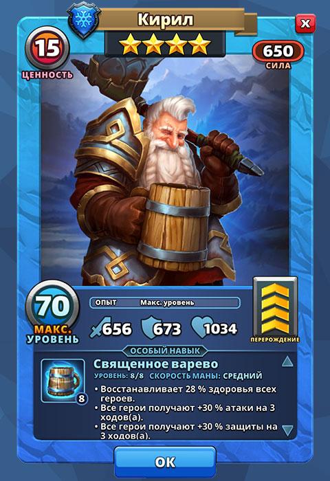 Кирил из игры Империя Пазлов