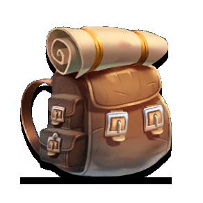 Набор искателя приключений (рюкзаки) в Империи Паззлов