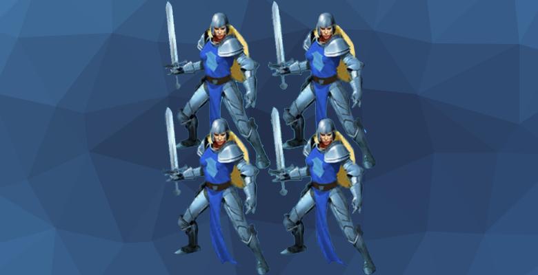 Бойцы империи из игры Империя Паззлов