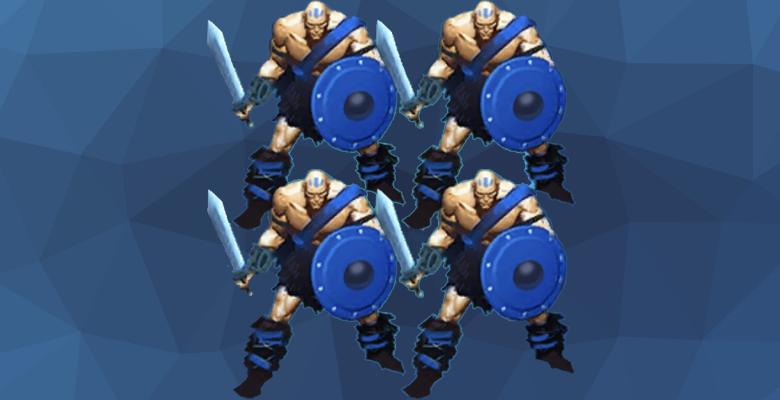 Воины-опустошители из игры Империя Паззлов