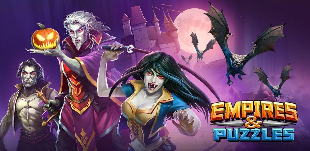 Вампиры Морловии из игры Empire and Puzzle